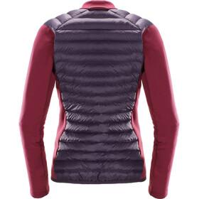 Haglöfs W's Mimic Hybrid Jacket Acai Berry/Bigarreau